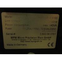 MPM BMT200 Balancing Station