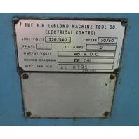 "LeBlond Regal 15"" Swing Lathe 1 1/2"" Thru Hole"