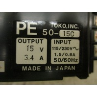 Toko Power Supply PE50-15C