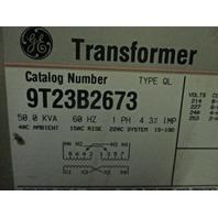 Single Phase General Electric 50KVA Transformer 9T23B2673
