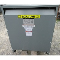 3 Phase Square D 75KVA Transformer EE75T67H