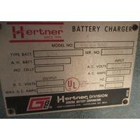 Hertner 12V ForkLift Charger 3SE6-380