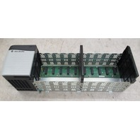 Allen Bradley Power Supply 1756-PA75/B with 10 Slot Rack 1756-A10/B