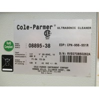 Cole-Parmer Ultrasonic Cleaner 08895-38