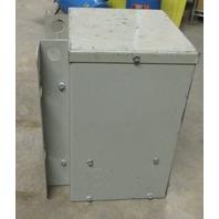 GE 5 KVA Transformer 9T21B1004 G02- 480/240V-240/120V