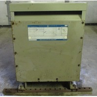 GE 15 KVA Transformer 9T2383871 480-208y/120 V