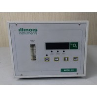 Illinois Instuments Model 911 Oxygen Analyzer with Turbopurge 900-021 attachment