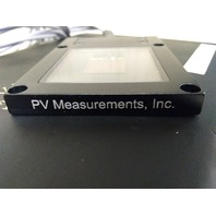PV Measurements Inc. RCG-B-RTD Photovoltaic Reference Cell