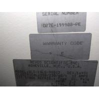 Revco / Harris Ultra Low Temp Lab Freezer - Control Set Point 5° C to -180° C