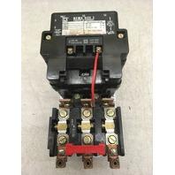 Square D Company 8536, Size 3, Series A,+ Elec. Interlock