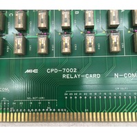 MIIC CPD-7002, Relay Card