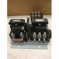 GE 300 Line CR309 Magnetic Reversing Controller Nema size 4/W CR324F310A  Relay NEMA B600