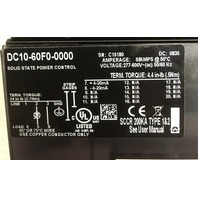 Watlow Din-a-mite DC10-60F0-0000 Solid State Power Control 600V