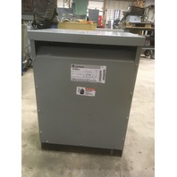 GE  50 KVA Transformer  480 Primary-480 Secondary /277 (neutral) 9T23B3012
