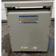 GE 9T23B3873 Transformer 45 KVA 480-208Y/120 - Used