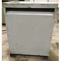 GE 9T23B3872 Transformer 30 KVA 480-208Y/120 V, Used