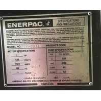 ENERPAC 25 TON H FRAME HYDRAULIC  PRESS / With ENTERPAC PUMP PER-2031