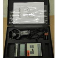 Reed Anemometer