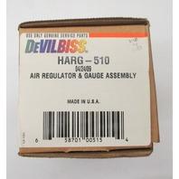 DeVilbiss HARG-510 Air Regulator & Gauge Assembly