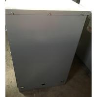 GE  Transformer, 25 KVA, Primary 506-217 V, Secondary 240-120 V,  1 Phase, 9T23L2671