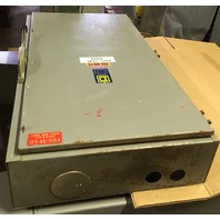 Square D Saftety Switch,600 Amp, 600V, 3 Phase, Single throw fusible, Catalog No. H366