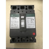 GE Industrial Circuit Breaker, 45 Amp, 480 VAC, 250 VDC, 3 pole, CAt No. TED134045