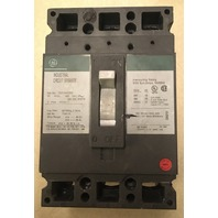 GE Industrail Circuit Breaker 20 Amp, 480 VAC, 250 VDC, 3 pole, Cat No. TED134020V