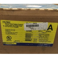 NEW IN BOX Square D HU362 HD Safety Switch Non-Fusible 600V 60A 3P NEMA1