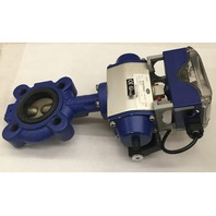 REVO Center Line Series RS Butterfly Valve & Actuator RD70060050R0000