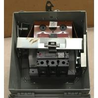 GE Plug SB36SELG 3P 3W 600V 60 AMP  W/ 60 Amp Current Limiting Circuit Breaker SELA36AT0060