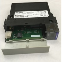 ALLEN BRADLEY- Ethernet/IP 10/100 Mb/s Communications Bridge 1756-ENBT A,  FW 3.9
