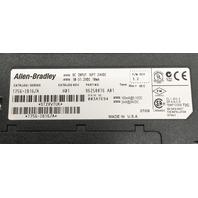 ALLEN BRADLEY DC INPUT 16 pT 24 VDC, 1756-IB16/A, F/W REV 3.2