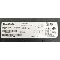 Allen Bradley Analog Output 10V & 4-20 mA 4 Point Output 1756-0F4,  F/W REV 1.5