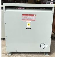 GE 9T23B3874 75-KVA 480-208Y/120 3 Phase Transformer