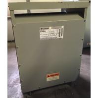 GE 45 KVA 3 Phase Transformer 9T23B3873 -480-208Y/120
