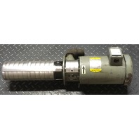 GRUNDFOS Submersible pump-CRK4-100/5 U-W-A-BUBV, W/ BALDOR Motor VM 3555-NP