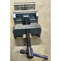 PALMGREN Machinist, Metalworking,  Drill Press Vice, 6 inch Max Jaw Opening, 6 Inch wide