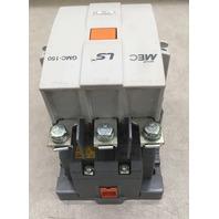 LS MEC THERMAL 3 POLE CONTACTOR GMC-150, 600V MAX, 1 PH, 3 PH