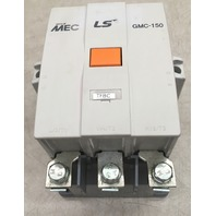 LS MEC THERMAL 3 POLE CONTACTOR GMC-150, 600V MAX, 1 PH, 3 PH
