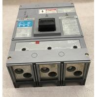 Siemens ITE Sentron Series Circuit breaker JXD63B400/ 400 Amp 600 AC Volts max, 3 pole