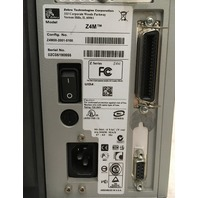 Zebra Z4Mplus Thermal/ Postal Labels/ Barcode Printer, Z4M00-2001-0100/ WORKS
