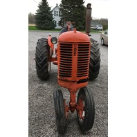 1950 VAC Case Tractor,  easy rider seat assembly W pan spring bracket
