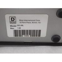 Bios Drycal DC-Lite Primary Flow Meter DCL-ML, Rev 1.09, W/ power suppy