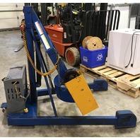 Vestil Portable Drum Carrier/Rotator/Boom, 800-Lb. Capacity, 72 inch Drum Lift, Model# HDC-305-72-DC