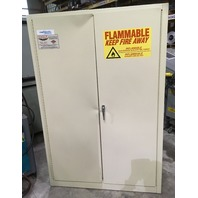 Eagle Fireresistant Safety Storage Cabinet 45 Gal, Model No. BE1-47
