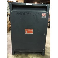 SB Heavy Duty Transformer 75 KVA, 3 Ph, 480-208Y/120 V, Cat. T2H75B