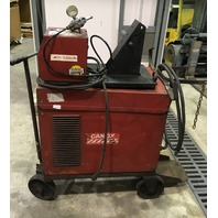 Canox 200 AMP, welder and wire feeder C-CP-200