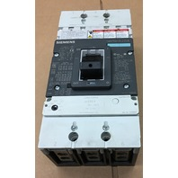 Siemens NJG3F400 circuit breaker 400 A 600 V 50/60 Hz Adjustable trip