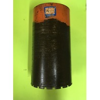 "CORE BORE,DIAMOND CONCRETE WET CORE DRILLING BIT 8.25""wide x 14.75""long"