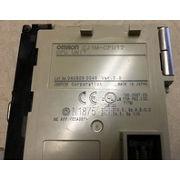 Omron Sysmac CJ1M CPU 12 Programmable controller
